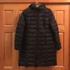 Long Black winter jacket
